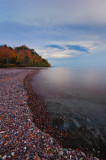 Evening at Lake Superior