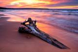 Meyers Beach sunset colors 1