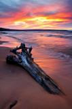 Meyers Beach sunset colors 2