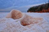 a frozen wave