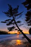 Sunset, Chippewa Flowage