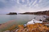 Ellingsen Island and shoreline