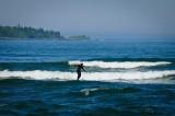 Surfing on Lake Superior