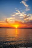 Sunset at Lake Pepin