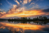 Sunset at Chippewa Flowage