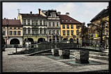 A square in Bielsko Biala, Poland...