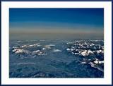 Still snow on the Spanish mountain tops...