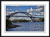 The bridge to the Island where I live...