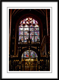 beautiful stained glass window...