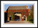 Wawel Castle gates...