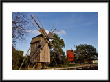grey windmill...