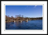 View from a ferry boat on the way to Vaxholm...