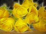 many yellow ones