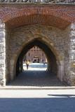 Entrance of Florianska Gate Tower