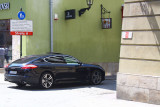 Panamera on the streets of Old Town