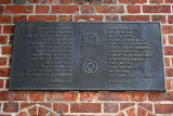 Information plate - Unesco Heritage