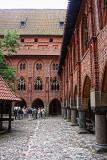 Malbork Castle - Courtyard