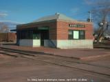 Ex- CB&Q depot of Washington KS