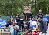 OCCUPY WALL STREET at  Zuccotti Park  in NYC