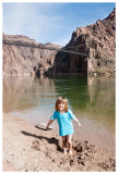 Norah and the Grand Canyon she dug