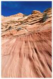 Striated sandstone