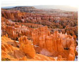 The hoodoos come alive at sunrise
