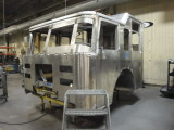Our new truck on the assembly line