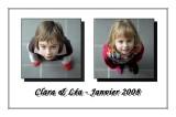 Clara & Lea - Janvier 2008
