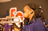 Blowing The Trumpet On Bourbon Street