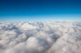 Blue Sky Above Sea Of Clouds