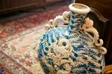 Dragons On Antique Vase