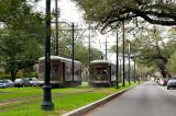 Streetcars On St. Charles Ave.