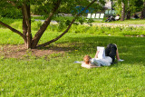 Caught Reading In The Park