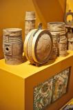 Carved Wooden Vessels