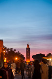 The Koutoubia Mosque At Sunset