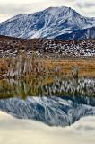 Mono Lake And Mt. Gibbs