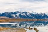 Mono Lake And Sierra Nevada Mts