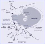 Mono Lake Map