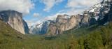 Panorama Of Yosemite