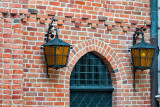 Two Lanterns Of The Old Door