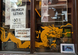 Dragon From A Snack  Bar Window