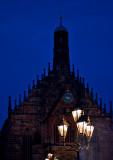 Lantern And Medieval Clock