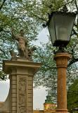 Lantern On A Column