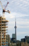 100% crop of CN Tower @f1.2 NEX5