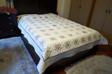 Ohio star queen size bed cover. Made in 2011