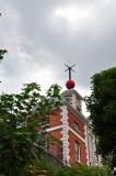Flamstead House and Time Ball