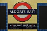 Aldgate East Tube