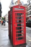 Fleet Street Phone Box