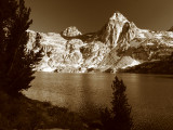 Evening Light of Rae Lake