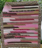 Pink and brown Jelly Roll by Val 2011